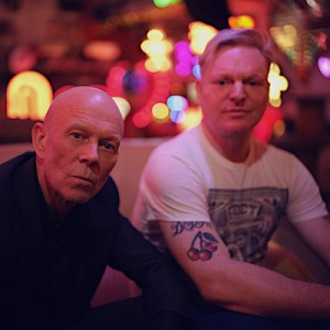 Vince Clarke and Andy Bell of Erasure