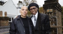 Merck Mecuriadis and Nile Rodgers