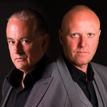 Martyn Ware and Glenn Gregory of Heaven 17