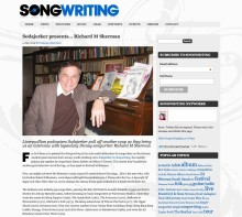Richard M. Sherman interview