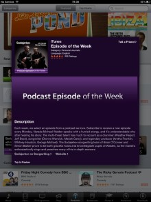 iTunes Podcast Episode of the Week