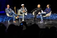 Simon Barber, Nile Rodgers, Merck Mercuriadis and Brian O'Connor