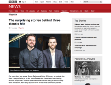 Sodajerker on BBC News